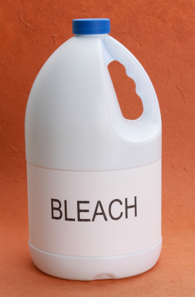 Put the bottle of bleach down and step away!