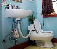 Cheaper Greywater Toilet
