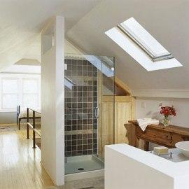 Skylight-in-Bathroom
