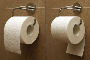 Bath Fixerthe Great Toilet Paper Debate Which Way To Roll Bath Fixer