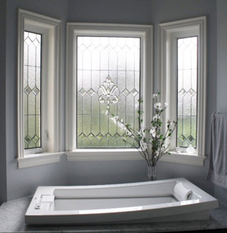 Bath Fixer - Frosted Glass Windows